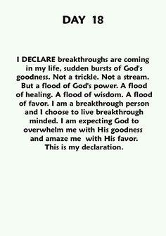 I Declare...