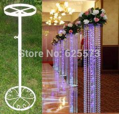 Wedding beaded curtain Road lead frame/wedding decoration,10 pcs / lot,lead frame,bracket,holder,support