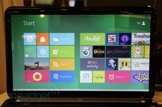 So excited for Windows 8. I honestly LOVE the live tile idea. The days of start & task bars are in the past.