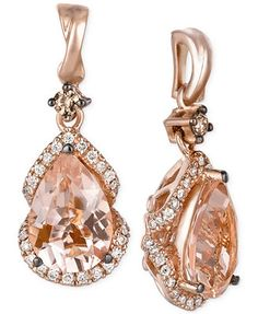 Accessorize the red carpet with this glamorous drop earrings from Le Vian…