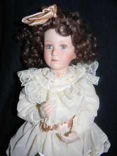 "Georgetown Collection Porcelain Doll Sophie and Her Bru by Pamela Phillips 19"" #PorcelainDoll"