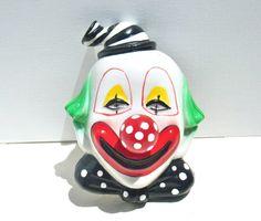 Vintage Clown Music Box   Musical Wall Decor by MellowMermaid, $45.00