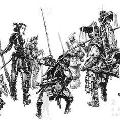 2013 Sketch Collection Poster by Kim Jung Gi