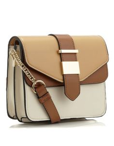 Colour Block Double Flap X Body