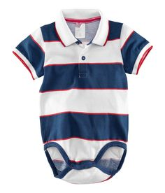 Smart onesie.  Available Sizes: 4-24M.   NRs 1,100.