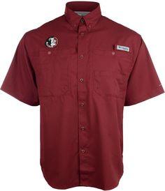 Columbia Men's Florida State Seminoles Tamiami Shirt