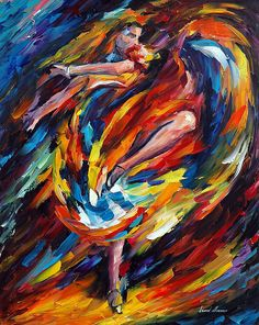 Flamenco Art Print for sale. Shop your favorite Leonid Afremov Flamenco Art Print without breaking your banks. Oil Painting On Canvas, Canvas Art, Art Forms, Cool Art, Awesome Art, Original Paintings, Art Paintings, Abstract Art, Art Prints