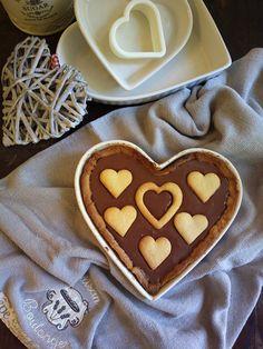 Crostata a forma di cuore per San Valentino - Un dolce al giorno...