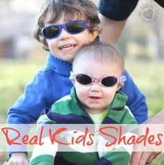 7e2abc074d Sibling love and Real Kids Shades - A Million Moments Baby Sunglasses
