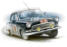 21-09 | ⌸ 975 https://de.pinterest.com/hotrodnisse/dream-cars-from-the-old-soviet-union/