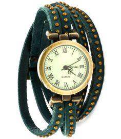 Wrap Around Leather Watch