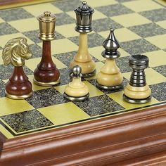 Bello Games Collezioni Bello Italiano Chessmen From Italy *** You can get additional details at the image link. Chess Tactics, Chess Boards, Chess Table, Chess Players, Chess Sets, Chess Pieces, Table Games, First Night, Board Games