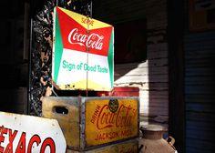 """Coca-Cola """"Sign of Good Taste"""" Sign"""