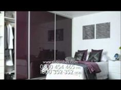 Sliderobes' custom built, fitted wardrobes with sliding doors are like no other; Sliding Wardrobe Doors, Fitted Wardrobes, Tv Ads, Storage, Videos, Shoes, Home Decor, Purse Storage, Built In Robes