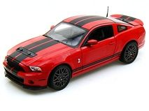 2013 #Ford #Shelby #GT500 1/18 Red w/ Black stripes