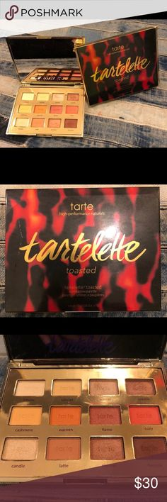 Tarte Toasted Palette Faux Tartelette Toasted palette, but it is just as pigmented and beautiful as the original! I swatched all the shadows for testing when I got it 4 months ago but I haven't used it at all. I have so many other neutral palettes already I haven't needed this one, so hopefully someone can get good use out of it! Asking $30 OBO :) tarte Makeup Eyeshadow