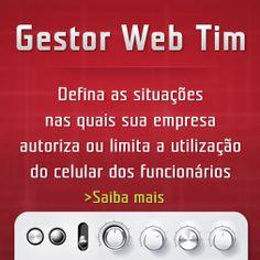 Criação de banner lateral Gestor Web Tim Empresa para Tim Conecta. http://www.timconecta.com.br http://www.miolodigital.com.br