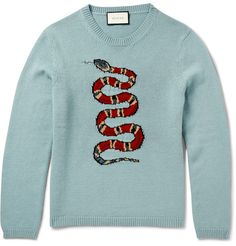 MR PORTER's offers a selection of Designer Knitwear, from Ralph Lauren, Tom Ford, Loro Piana & more. Dope Sweaters, Gucci Hoodie, Versace, Dior, Gucci Gifts, Gucci Outfits, Prada, Ralph Lauren, Matches Fashion
