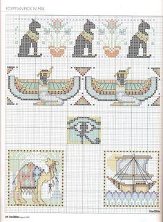 sandylandya@outlook.es Egyptian motifs part 4