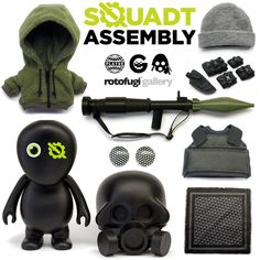 Squadt Assembly via http://www.notcot.com/archives/2013/03/squadt-assembly.php https://twitter.com/PlaygeToys