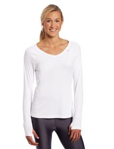 Asics Women's Favorite Long Sleeve Top:Amazon:Sports & Outdoors