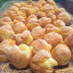 Profiteroles de Crema Pastelera!!!
