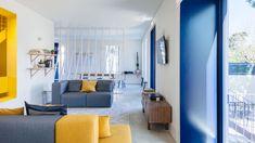 "The Color-Splashed Minimalism of ""Hostel in Parede"" | Yatzer"