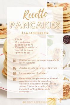 Let's test this easy pancakes recipe with rice flour and milk! Rice Flour Pancake Recipe, Pancakes Easy, Rice Recipes, Milk, Blog, Rice Puddings, Pranks, Blogging