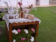 Vintage arrangements by Sposiamovi Puglia
