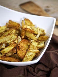 Patate e finocchi sabbiosi al forno