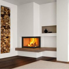 Piazzetta Fireplaces   Piazzetta Bristol Fireplace suitable for Wood