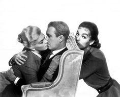 Kim Novak,James Stewart andBarbara Bel Geddes-VERTIGO-1959... I want their wardrobe!