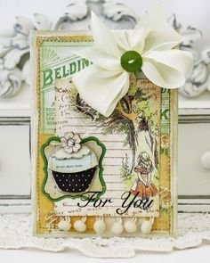another lovely card by Melissa Phillips