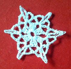 Pretty snowflake pattern