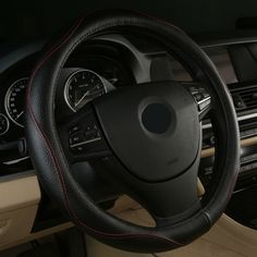 65.00$  Watch now - http://ali6bt.shopchina.info/1/go.php?t=32815238698 - 2017 Hot Sell Leather Auto Car Steering Wheel Cover Anti-catch for chevrolet malibu xl trailblazer epica 2017 2016 2015 2014   #aliexpressideas