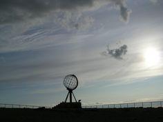 Outra visión da bola do mundo. Cabo Norte (Noruega)