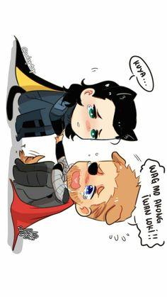 Thor & Loki by ℒɐızʎ_ArTš