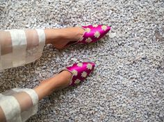 Magenta, Flats, Flat Shoes, Blue, Colour, Winter, Instagram, Fashion, Loafers & Slip Ons