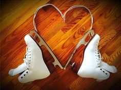 Fun with figure skates on and off the ice! Thanks for spreading your Riedell love, Amelia!