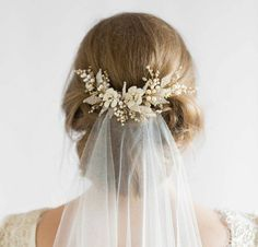 Complete your bridal look with the perfect wedding Veils; Wedding Veils Online, Wedding Veils for Bridal Headpieces, Vintage Inspired Wedding Veils Bridal Veils And Headpieces, Headpiece Wedding, Wedding Veils, Gold Headpiece, Wedding Dresses, Wedding Garters, Wedding Bouquets, Wedding Looks, Dream Wedding