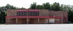 Marquette Theatre Christmas Day thru June 2005 Michigan City, Indiana, Theatre, Classic, Outdoor Decor, Cities, June, Memories, Random