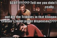 Tribbles, Star Trek, Geek Humor,