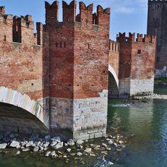 Dettaglio del Ponte di Castelvecchio