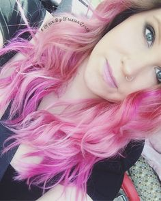 #pinkhair #prettyinpink #HairByKristenLentz  #olaplex #paulmitchell #IHeartPM #joico #joicointensity #LicensedtoCreate #cosmoprofbeauty #behindthechair #modernsalon #salonboutique #vintagepark #houstonhair #houstonstylist #houstonsalon #fashion #fashioncolor #fantasy #fantasycolor #vivid #vividcolors #pinkhairdontcare #pink