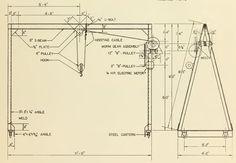 overhead crane plans