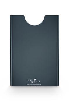 thin king aluminum card case