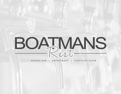 Boatmans Rest Logo Design