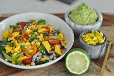 Erin Stanczyk   Lifestyle Design   eat.move.rest.   WHAT I EAT FOR LUNCH: A ROCKIN' RAW, RAINBOW FIESTA SALAD RECIPE