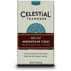 Celestial Seasonings Celestial Teahouse Decaf Mountain Chai 20-count Tea Bags