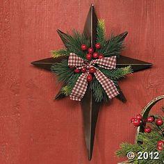 Christmas Barn Star
